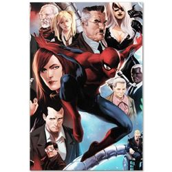 """Marvel Comics """"Amazing Spider-Man #645"""" Numbered Limited Edition Giclee on Canvas by Marko Djurdjevi"""