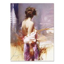 """Pino (1939-2010), """"Twilight"""" Artist Embellished Limited Edition on Canvas, AP Numbered and Hand Sign"""