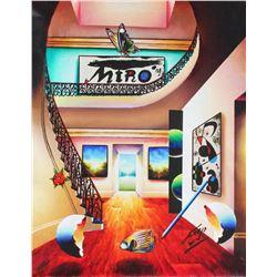 """Ferjo """"MIRO"""" Giclee on Canvas"""
