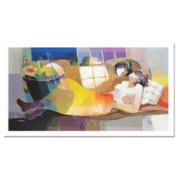 """Hessam Abrishami """"Daylight Dream"""" Limited Edition Serigraph on Canvas (48"""" x 24""""), Numbered and Hand"""