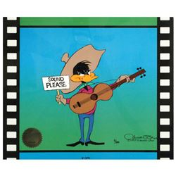 """""""Sound Please"""" by Chuck Jones (1912-2002). Limited Edition Animation Cel with Hand Painted Color. Nu"""