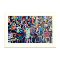 "James Talmadge, ""Bar at the End of the Pier"" Limited Edition Serigraph, AP Numbered and Hand Signed"
