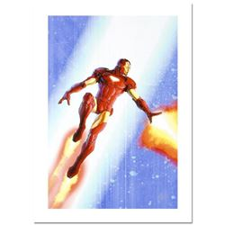 "Stan Lee Signed, ""Iron Man & The Armor Wars #3"" Numbered Marvel Comics Limited Edition Canvas by Fra"