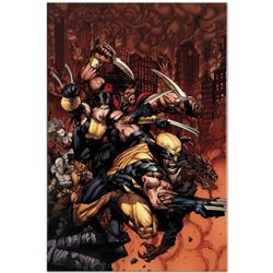 "Marvel Comics ""X-Factor #26"" Numbered Limited Edition Giclee on Canvas by David Finch with COA."