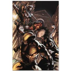 "Marvel Comics ""Wolverine: Origins #25"" Numbered Limited Edition Giclee on Canvas by Simone Bianchi w"