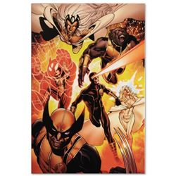 "Marvel Comics ""Astonishing X-Men #35"" Numbered Limited Edition Giclee on Canvas by John Cassaday wit"