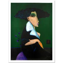 "Legendary Russian Artist Sergey Smirnov (1953-2006). ""Anna Pavlova"" Limited Edition Mixed Media on C"
