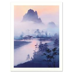 """H. Leung, """"Li River Morning"""" Limited Edition, Numbered and Hand Signed with Letter of Authenticity."""