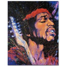 """""""Purple Haze"""" Limited Edition Giclee on Canvas by Stephen Fishwick, Numbered and Signed. This piece"""