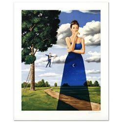 "Rafal Olbinski- Hand Pulled Original Lithograph ""Midsummer Marriage"""