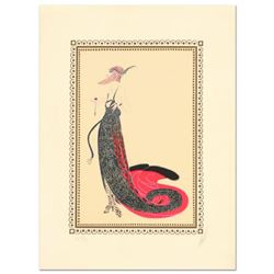 """Erte (1892-1990), """"Black Magic"""" Limited Edition Serigraph, Numbered and Hand Signed with Certificate"""