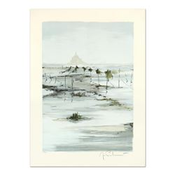 """Laurant, """"St. Michele at Morning"""" Limited Edition Lithograph, Numbered and Hand Signed."""