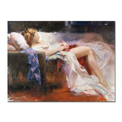 Pino (1939-2010),  Sweet Repose  Artist Embellished Limited Edition on Canvas (40  x 30 ), AP Number