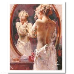 """Pino (1939-2010) """"Contemplation"""" Limited Edition Giclee. Numbered and Hand Signed; Certificate of Au"""