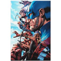 Marvel Comics  Avengers #1  Numbered Limited Edition Giclee on Canvas by Bruce Timm with COA.