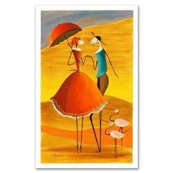 "Ester Myatlov, ""Serenade"" Limited Edition Serigraph, Numbered and Hand Signed with Certificate of Au"
