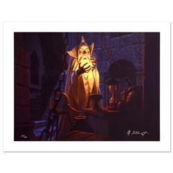 """Saruman And The Palantir"" Limited Edition Giclee on Canvas by The Brothers Hildebrandt. Numbered an"