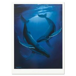 "Wyland, ""Song of the Deep"" Limited Edition Lithograph, Numbered and Hand Signed with Certificate of"