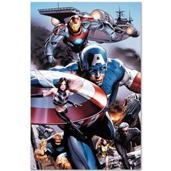 "Marvel Comics ""Ultimate Power #6"" Numbered Limited Edition Giclee on Canvas by Greg Land with COA."