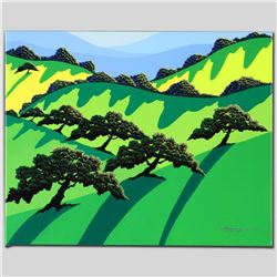 """A Gathering of Trees"" Limited Edition Giclee on Canvas by Larissa Holt, Numbered and Signed. This p"