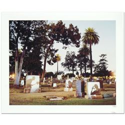 "Robert Sheer, ""Graveyard Spirits"" Limited Edition Single Exposure Photograph, Numbered and Hand Sign"