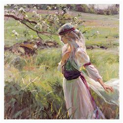 "Dan Gerhartz, ""Extending Grace"" Limited Edition on Canvas, Numbered and Hand Signed with Letter of A"