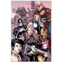 "Marvel Comics ""Ultimate Avengers vs. New Ultimates #2"" Numbered Limited Edition Giclee on Canvas by"