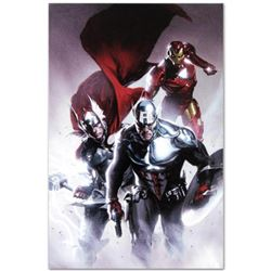 "Marvel Comics ""Invasion #6"" Numbered Limited Edition Giclee on Canvas by Gabriele Dell'Otto with COA"