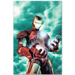 "Marvel Comics ""Iron Man Legacy #2"" Numbered Limited Edition Giclee on Canvas by Brandon Peterson wit"
