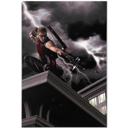 "Marvel Comics ""Ultimate Hawkeye #2"" Numbered Limited Edition Giclee on Canvas by Kaare Andrews with"