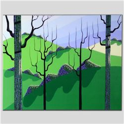 """""""Over Hills"""" Limited Edition Giclee on Canvas by Larissa Holt, Numbered and Signed. This piece comes"""