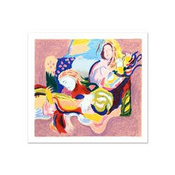 """David Bovetez, """"Fiesta"""" Limited Edition Lithograph, Numbered and Hand Signed."""