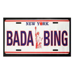 "Steve Kaufman (1960-2010), ""Bada Bing"" Hand Pulled Limited Edition Silkscreen on Canvas, AP Numbered"