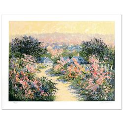 """Kerry Hallam, """"Reign of Roses"""" Limited Edition Serigraph, Numbered and Hand Signed."""