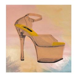 """Steve Kaufman (1960-2010), """"Stripper Shoes"""" Hand Signed and Numbered Limited Edition Hand Pulled sil"""