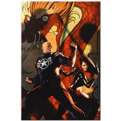 """Marvel Comics """"Secret Avengers #6"""" Numbered Limited Edition Giclee on Canvas by Marko Djurdjevic wit"""