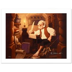 """""""Bilbo At Rivendell"""" Limited Edition Giclee on Canvas by The Brothers Hildebrandt. Numbered and Hand"""