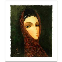 "Legendary Russian Artist Sergey Smirnov (1953-2006). ""Contessa"" Limited Edition Mixed Media on Canva"