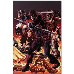 "Marvel Comics ""Hawkeye: Blind Spot #1"" Numbered Limited Edition Giclee on Canvas by Mike Perkins wit"