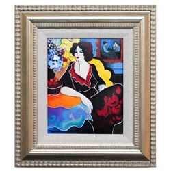 "Patricia Govezensky- Original Giclee on Canvas ""Miriam"""
