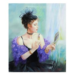 "Taras Sidan- Original Oil on Canvas ""Remember When"""