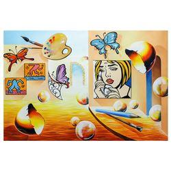 "Alexander Astahov- Original Oil on Canvas ""Heaven"""