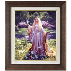 """""""The Gift Of Galadriel"""" Limited Edition Giclee on Canvas (32"""" x 36"""") by Greg Hildebrandt. Numbered a"""