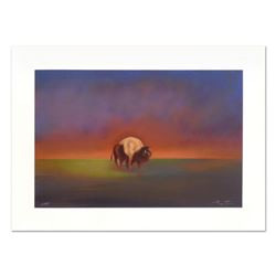 "John Axton, ""Dakota Elder"" Limited Edition Serigraph, Numbered and Hand Signed with Certificate of A"