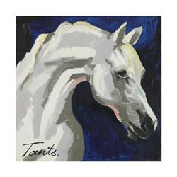 Lena Tants, Original Acrylic Painting on Canvas, Hand Signed with Letter of Authenticity.