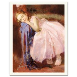 "Pino (1939-2010) ""Party Dreams"" Limited Edition Giclee. Numbered and Hand Signed; Certificate of Aut"