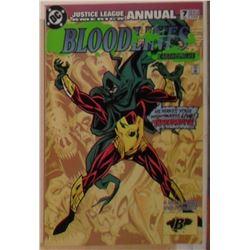 MINT or near mint 54 pages+ Annual DC Comics Bloodlines # 7 1993 - bande dessinée