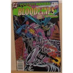 MINT or near mint 54 pages+ Annual DC Comics Bloodlines # 6 1993 - bande dessinée