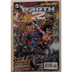 MINT or near mint DC Comics Earth 2 The Epic Begins - bande dessinée neuve ou presque