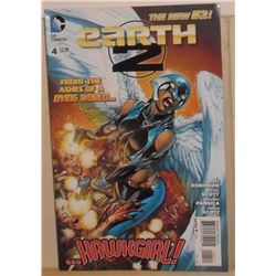 MINT or Near Mint DC Comics Earth 2 #4 October 2012 Ashes Dying World - bande dessinée
